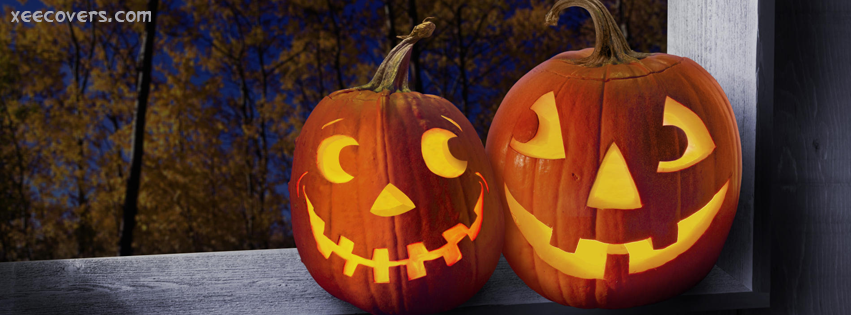 Scared Pumpkins facebook cover photo hd