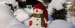 Snow Santa Claus
