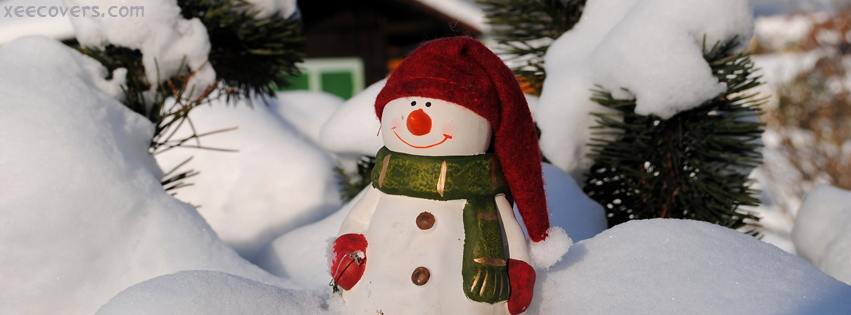 Snow Santa Claus FB Cover Photo HD