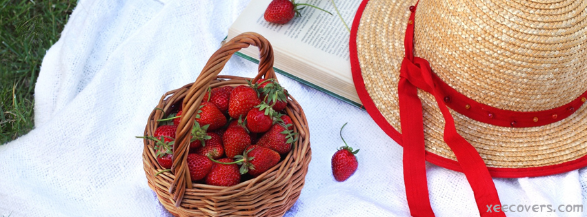 Strawberry Basket FB Cover Photo HD