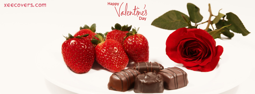 Strawberrys And Chocolates FB Cover Photo HD