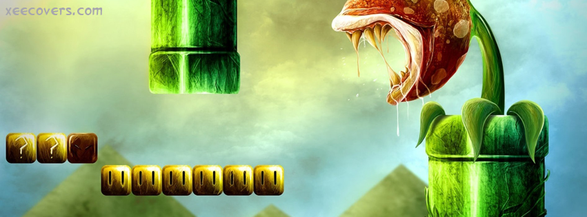 Super Mario facebook cover photo hd