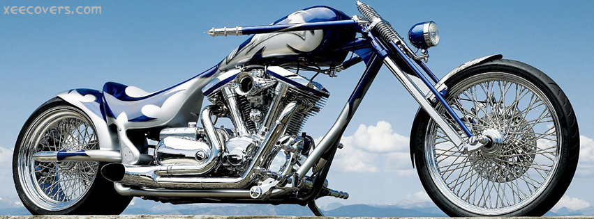 Yamaha Chopper facebook cover photo hd