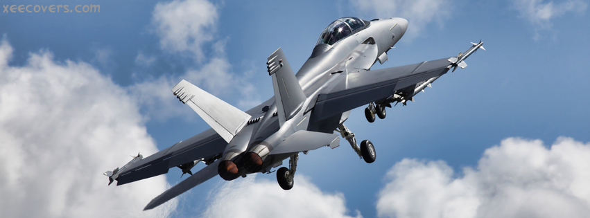 Air Force Jet facebook cover photo hd