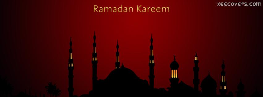 Beautiful Mosques in Ramzan FB Cover Photo HD
