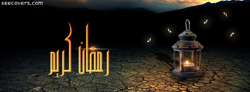 Beautiful Ramzan Candle FB Cover Photo HD