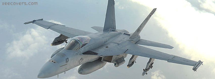 Boeing FA-18EF Super Hornet facebook cover photo hd