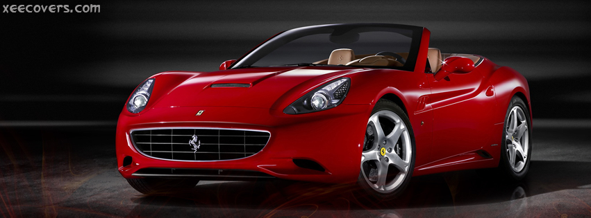 California Ferrari facebook cover photo hd