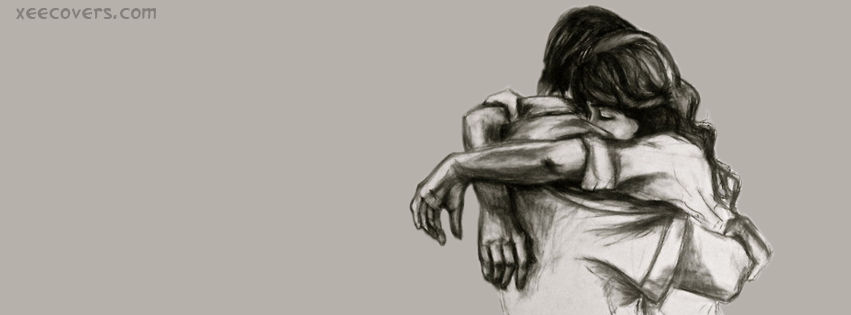 Couple Sketch FB Cover Photo HD