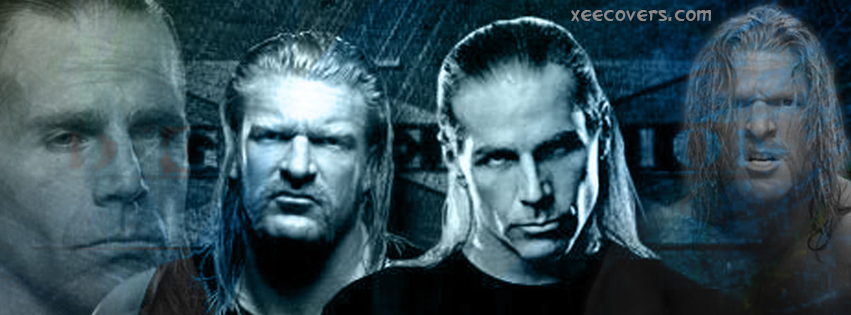 DX Generation Shawn & HHH facebook cover photo hd