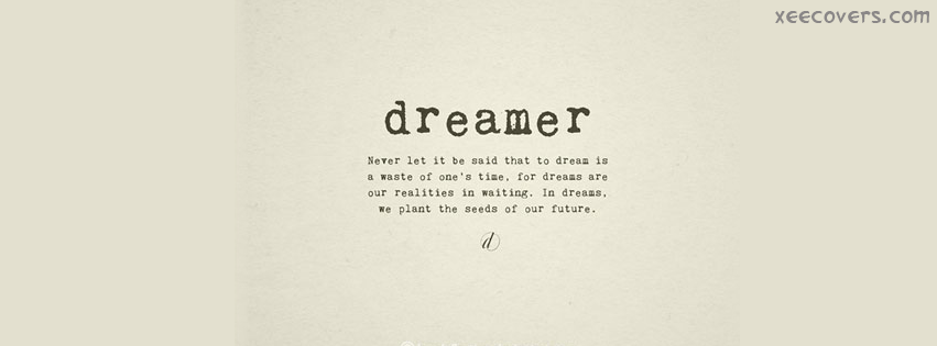 Facebook Covers Tumblr Quotes For Girls Dreamer FB Cover Photo...