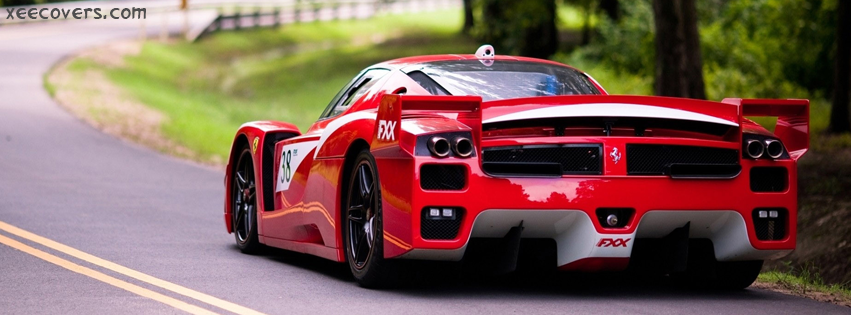 Ferrari FXX Evoluzione facebook cover photo hd
