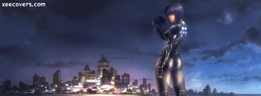 Ghost In The Shell FB Cover Photo HD