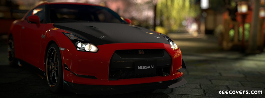 Gran Turismo Nissan GTR FB Cover Photo HD