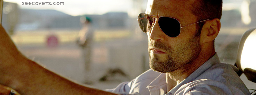 Jason Statham With Sun Glassis facebook cover photo hd