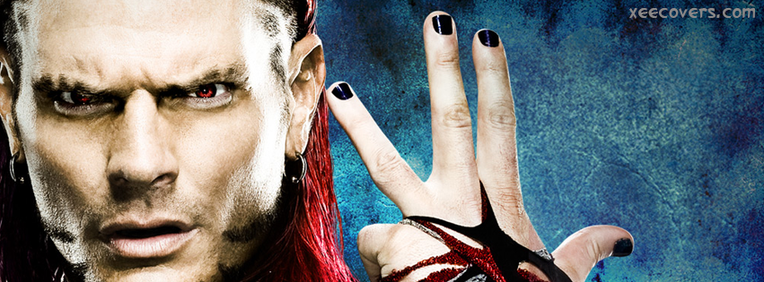 Jeff Hardy Winning Pose facebook cover photo hd