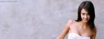 Jessica Alba In White Dress