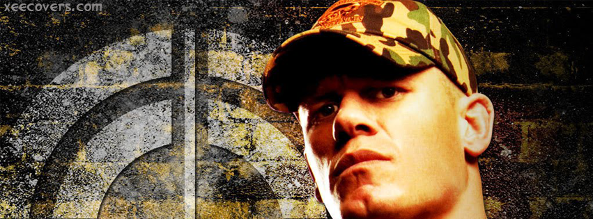 Jhon Cena Wearing Cap facebook cover photo hd