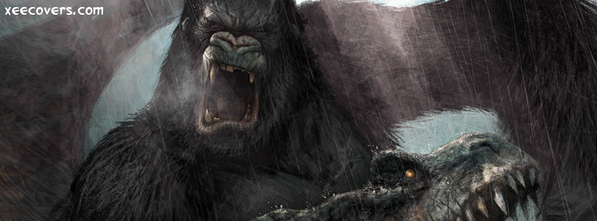 King Kong Close View FB Cover Photo HD