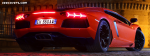 Lamborghini Aventador Back Light
