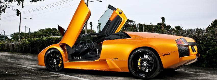 Lamborghini Murcielago Yellow FB Cover Photo HD