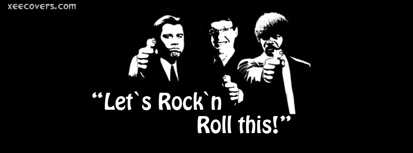 Let's Rock N Roll This FB Cover Photo HD