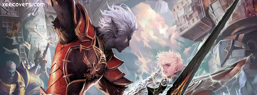 Lineage II The Chaotic Throne FB Cover Photo HD