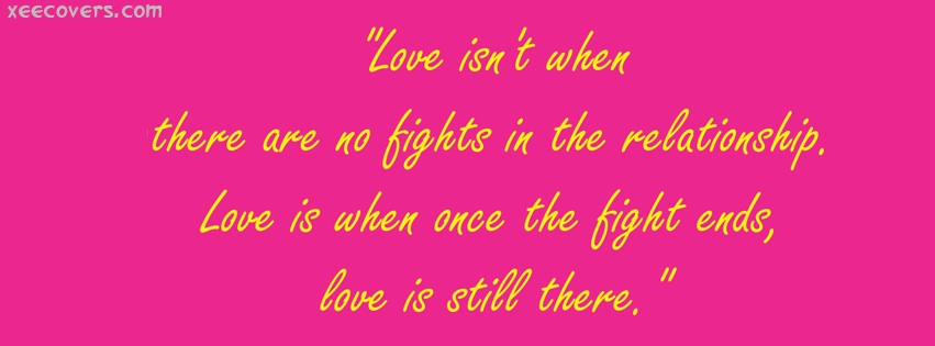Love Is Still There FB Cover Photo HD