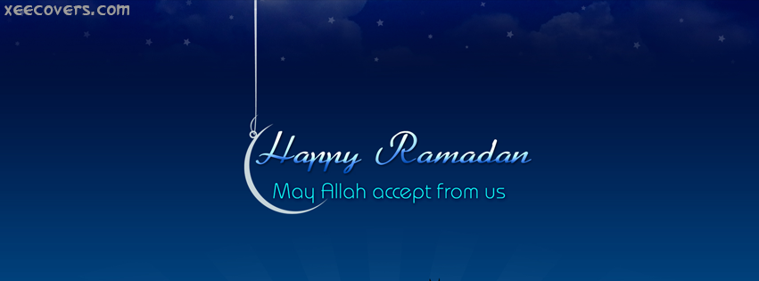 May Allah Accept From Us FB Cover Photo HD