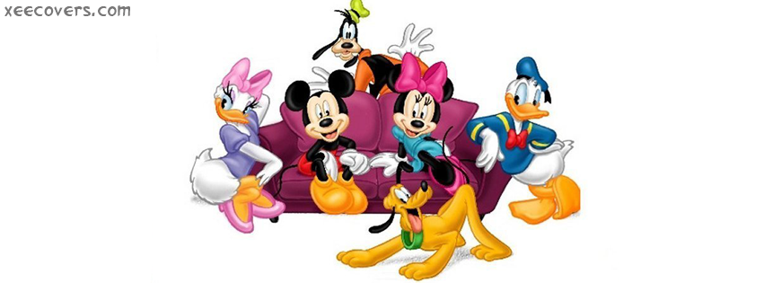 Mickey Mouse And Friends facebook cover photo hd