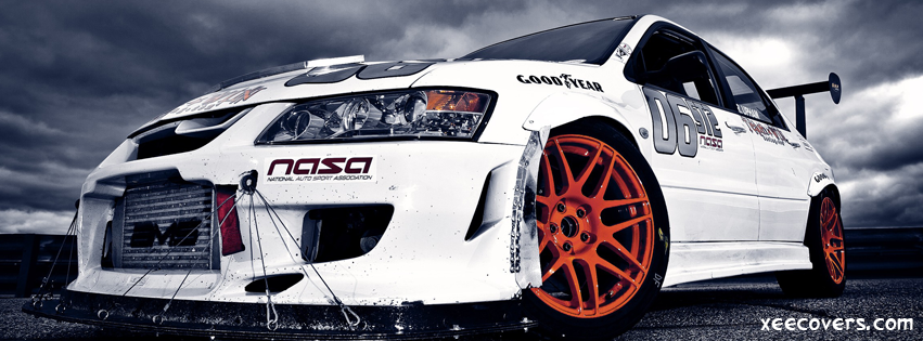 Mitsubishi EVO 8 FB Cover Photo HD