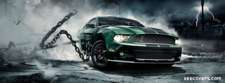 Mustang Monster Drift FB Cover Photo HD