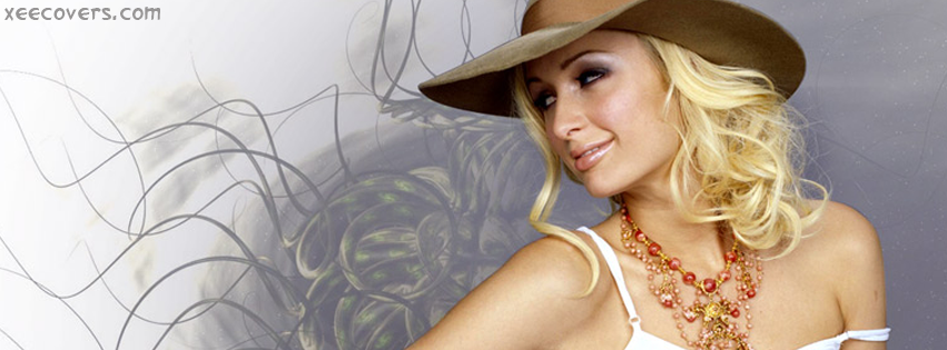 Paris Hilton facebook cover photo hd