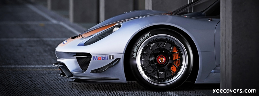 Porsche 918 Wheels FB Cover Photo HD