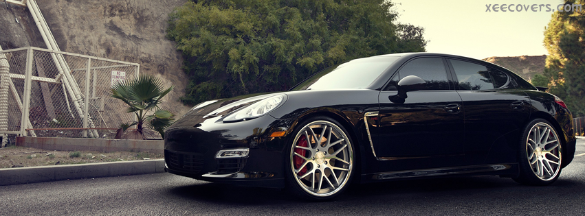 Porsche Panamera Turbo S facebook cover photo hd