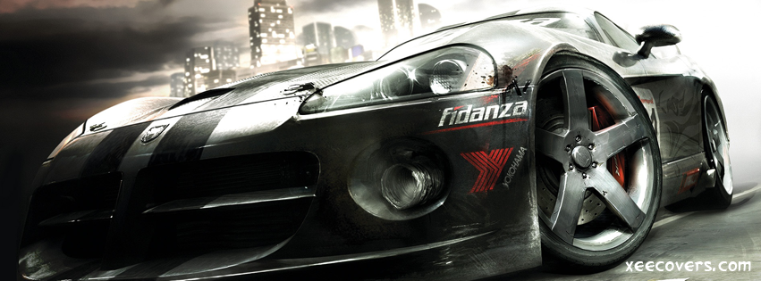 Race Driver Grid FB Cover Photo HD