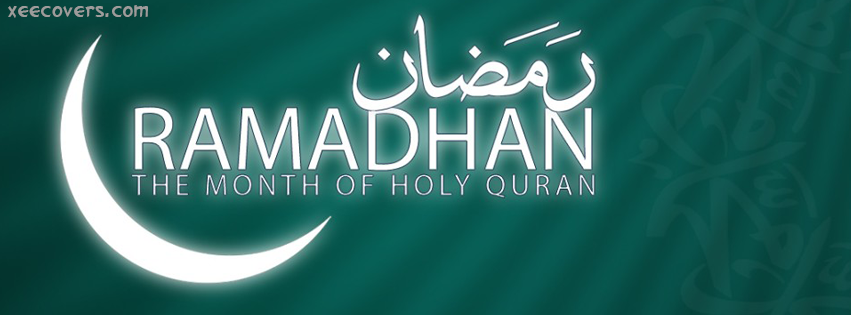 Ramzan Kareem – The Month Of Holy Quran FB Cover Photo HD