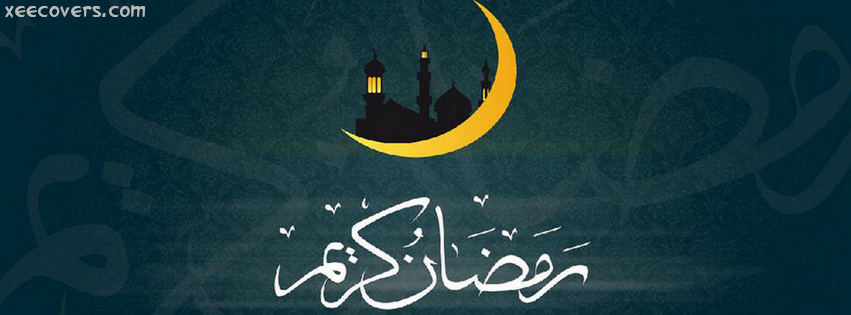 Ramzan Karim Moon facebook cover photo hd
