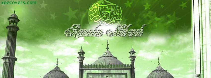 Ramzan Mubarik (Masjids) FB Cover Photo HD