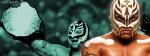 Rey Mysterio After Winning