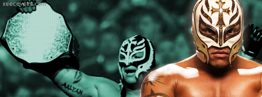 Rey Mysterio After Winning FB Cover Photo HD