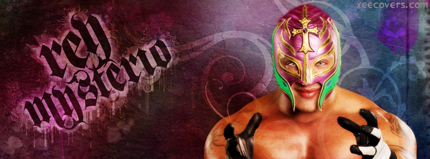 Rey Mysterio Smilling Face FB Cover Photo HD