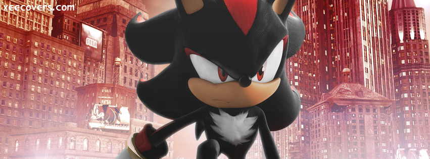 Shadow Hedgehog FB Cover Photo HD