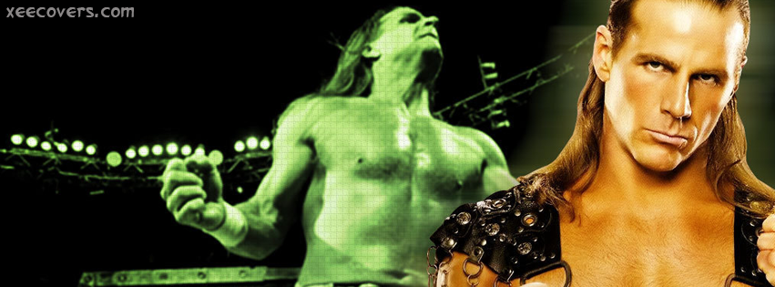 Shawn Michaels Shadow facebook cover photo hd