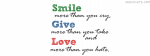 Smile Give Love