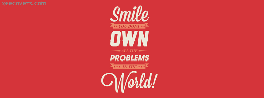 Smile On World facebook cover photo hd