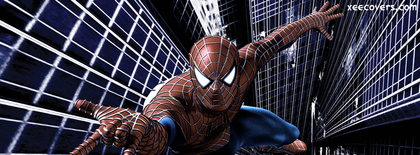 Spider Man On Mission FB Cover Photo HD