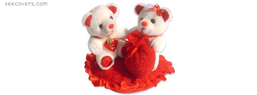 Teddy Bears Love FB Cover Photo HD