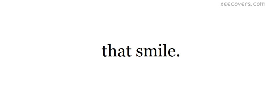 That Smile facebook cover photo hd