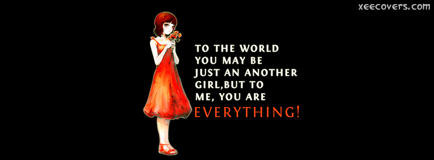 To Me You Are Everything FB Cover Photo HD